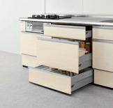 LIXILセラミックキッチン(リシェル) キッチンはLIXILのリシェルSIでセラミックトップ、扉カラーはグレーズグレーにします。 カップボードも同じくセラミックトップ、グレーズグレーで高さ85cm奥行き65cmにしよう...