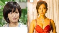 女優の夏菜さんのお顔が変身しましたが 整形したのかな 丸顔だったのが卵型になってるし メイクだけでしょうか
