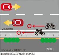 自転車は原則車道走行ですが、車道の中に入っても良いのでしょうか?車道外側線にこだわる必要はありませんか?車からしたら邪魔だと思うのですが。。