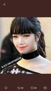 この方は小松菜奈さんではなく、BLACK PINKのリサさんですか?