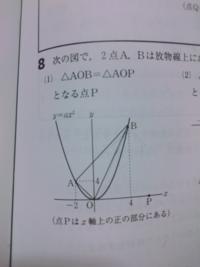点Pの座標を求めてください!求め方も教えてください。
