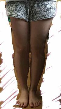 醜い画像すみません。 マッサージなど行っているのですが全然細くなりません。 流石にこの脚でタイツをはいてもミニスカートやショーパンは醜いと思ってます。 スカートやショーパンを履けるようになりたいのですがどうしたらいいですか?  おすすめの方法などあれば教えていただきたいです。 身長157cm 体重53kgです。