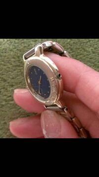 イブサンローランの腕時計 ネジの部分根こそぎ とれてしまいました。  修理代いくらくらいかかるでしょうか?  普通の時計屋さんで大丈夫でしょうか?