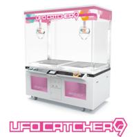 UFOキャッチャー9 この機械はアームか弱いというイメージが有るのですが、これでもアームを強くすれば箱の側面をつかんでのバウンドボール設定はできるのでしょうか?