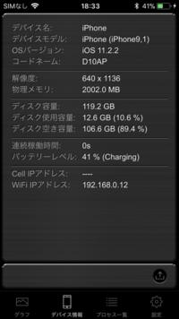 今日、iphone7をios10.3.3からios11.2.2に上げたのですが、解像度が640x1136になってしまったのですが、これでいいのでしょうか?iphone7の解像度は750x1334だったような気がしたのですが...。