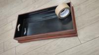 昔の道具?に詳しい方 教えて下さい  このお盆?のような物はなんでしょうか?? 深さが結構あります 木製で内側は黒(うるし?)く塗られています