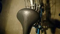 学校に行くとき駅に自転車をとめるんですが、たまに帰りに自転車のサドルに液体(?)が付着しています、触った感じ水っぽいかんじで、臭いが汚い表現がしますがゲロのような匂いがします。唾では無さそうなんですが何 の液体なんでしょう?下の写真は実際の写真です