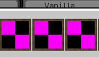 マインクラフトのMOD「bibliocraft」について。絵画を追加すると、追加した一部の画像が紫と黒になってしまいます。画像形式もPNGになっているのですが、正常に表示する方法はありませんか? 質問不足な点がありましたら教えて下さい。