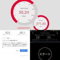 Wi-Fiのスピードテストによって違いが酷すぎます。 もちろん接続先の違いや測定方法が違うので、同じ速度にならないのはわかっていますが、この差は酷すぎでは無いでしょうか?