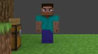 3Dアニメーションソフトblenderについて質問があります。 私はblenderでMinecraftのアニメーションを作っているのですが、作ったアニメーションをレンダリングしようとすると、人以外のテクスチャがぼやけてしま...