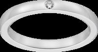 カルティエのバレリーナという結婚指輪は、サイズ直し(1号大きくすること)はできますか? 画像と同じ指輪です。