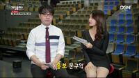 日本の女子アナもこの韓国の女子アナみたいなミニスカでテレビ番組に出演してほしいですよね?