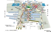 仙台駅東口から西口までの行き方について教えてください;_; 構内図をみてこれで行けるのかなと思ったところに線を引いてみたんですがこれで行けますか??;_;  また逆で西口から東口ま での行き方も写真のような感じで大丈夫でしょうか? 不安なのでわかりやすく教えて下さると嬉しいです