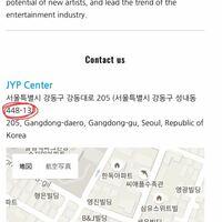 韓国の郵便番号についてです。 JYPエンターテイメントにお手紙を出したいのですが、郵便番号は↓の赤い丸の部分で合っていますか?   韓国にお手紙を出すのは初めてでよくわからず…詳しい方、よろしくお願いしますm(_ _)m