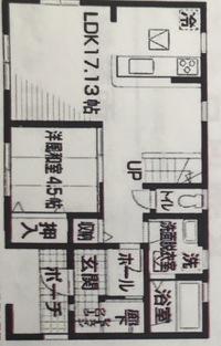 建売住宅を購入予定です。まだ建築中なのですが、間取り診断をお願いします。メリット、デメリットあれば教えて下さい。