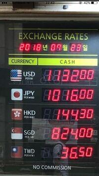 ウォン 円 日本 万 500