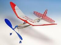飛行機の主翼に付いての質問です。  昔、ライトプレーンを 良く作っていましたが 翼の三分の一の部分か 三分の二の部分から ニューム管を曲げて 一段角度を付けていました。 ライトプレーンの場合 このケースは 結構有りました。  この角度を付ける理由は 何でしょうか?  飛行の安定性ですか? どの様な目的で 付けられているのでしょうか。  その効果は どの様...