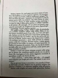 イタリア語の文章なんですけど、単語の意味は辞書で調べたりして辛うじて分かるのですが、文の翻訳が出来ません。日本語訳をお願いします。 一部書き込みがありますが気にしないでください。