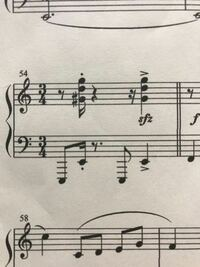 ピアノ初心者です。 このソ# ド ソを弾くとき、上のソにも#はつきますか? できれば解説もお願いしますm(_ _)m