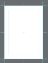 B5サイズの原稿用紙で漫画を描きたいのですが、描き方がよくわかりません。  基本は内枠の中に描くのでしょうか? 塗り足しという部分は一番外側の枠でしょうか?  画像はメディバンのB5サ イズの原稿用紙の設定です。 よろしくお願いいたします。