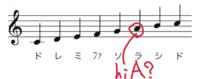 粉雪の最高音がhiAって聞いたのですがピアノでhiAと言われてる鍵盤を弾いてみたら実際の音源より低く聞こえて全然歌うのにも苦しくない高さだったのですが何か自分が勘違いしているのでしょうか? ちなみに画像の...