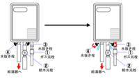 ガス給湯器の凍結防止したいのですが写真の給水元栓を断熱材で巻けばいいですか?