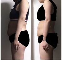 食事制限だけで1ヶ月で7kg痩せました。 高校生です。163cm69kg→62kgです。  痩せてお腹はへっこみましたが、お腹、二の腕、太ももがぷよぷよになり、しかも62kgから痩せません。  ダイエッ トした理由は体型...