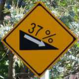 この警戒標識を見て、どう思いますか