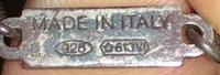 アクセサリーの素材の刻印について質問させて頂きます。 先日購入したアクセサリーの刻印に「925」とあり、シルバー925であるのは分かりますが、そのとなりに「☆613VI」みたいな刻印もあり、そ の意味がわかりま...