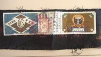 本場奄美大島紬の証紙について。  親族に頂いた大島紬に、以下の証紙が付いていたのですが、奄美大島産のちゃんとした大島紬ということはわかりましたが、手織りか機械織かの判別が調べてもわ かりません。お詳しい方、御教示下さい。