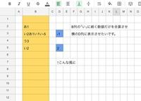 指定列のセル内で、指定文字に続く数字のみ利用して合計値を求めたいです。 iPadでスプレッドシートを利用していますm(._.)m 画像のようにするにはどんな入力をすれば良いのでしょうか? =SUMや簡単な計算しか...