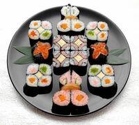 どれが好き? ①太巻き寿司 ②中巻き寿司 ③細巻き寿司
