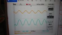 デジタルオシロスコープで波形を保存したんですけど、どれがDC結合かAC結合か分からなくなりました。この画像はDC結合ですか?
