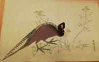 その2  どなたかこの日本画の作者、作品名を教えてください! リンク等があればそちらも是非ご教示くださいませ。