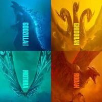ゴジラキングオブモンスターに登場する怪獣4体の内好きなデザインの怪獣はどれですか?自分はラドンです