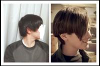 僕は中三の男子です。僕は後頭部に丸みがない絶壁頭?(手で撫でたら丸みがありません)なのですが、右の髪型に出来ますか?