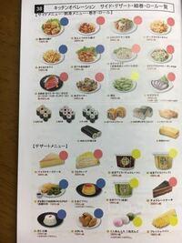 はま寿司でキッチンとして3日ほど働いているものです。 私は軍艦の担当なのですが先輩にサイド、デザートもやれと命令されて一生懸命頑張っているのですが、サイド、デザートに使うお皿が何種類もあってどのメニューにどのお皿に乗せればいいのか覚えられません。 マニュアルにもお皿のことが書いてないので、はま寿司で働いている人はぜひ教えて欲しいです。 ちなみに教えて欲しいのは、赤と青と黄色のマークがある...
