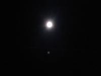 ケムトレイル 信じますか? 信じませんか? 私は中立的です。  今も夜空を眺めてると、飛行機の音さえ聞こえない遥か上空で 月明かりに照らされる飛行機雲……スマホのカメラでは見にくいですね。 一応マスク (゚Д゚υ≡υ゚Д゚)ァタフタ(笑)