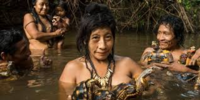 インディアンやインディオの人たちは純血でも我々アジアのモンゴロイドと容姿がかけ離れている気がします。 画像はアマゾンの孤立民族のアワ族ですが、モンゴロイドには見えません。 南北アメリカ大陸に渡ったモンゴロイドはアジアのそれとは容姿等が違うんでしょうか?