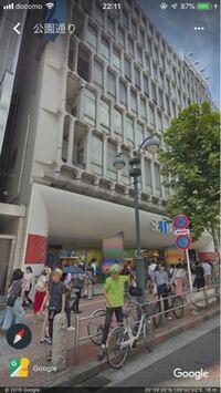 西武渋谷店のB館の正面出入り口教えてください。できれば画像でお願いします。ちなみにこれはa館ですか?