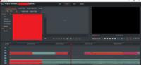 【動画編集】【Lightworks】  Lightworksで動画編集を行っていた際、  下の写真のように EDITの右上側のウィンドウが、何かの操作で2つになってしまいました。 1つで十分なのですが、消し方を教えていただき...
