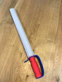 100均のスポンジの剣  この写真のスポンジ剣は、どこの100均で売っているかわかりますでしょうか?