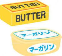 お菓子製作で、バターの代わりにマーガリンで代用しようというのは邪道ですか? 以前、お菓子教室に通っていたことがあります。 そこお菓子教室の先生は、個人洋菓子店も経営していました。  その先生が語っていたのですが、大手の製菓メーカーがお菓子を作る際に、少しでも原価を抑えようと、バターの代わりにマーガリンなんかで代用しようというのは許せないとのことでした。  味も品質も大きく落ちる、そ...