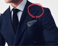 スーツのこの部分がすごい尖ってツンってしてるタイプのスーツは何て言いますか?どんな場面できるスーツなんですか?またそのツンとしてる部分は何て呼ぶんでしょうか?