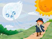 「北風と太陽」注・北国ではありません( ー`дー´)キリッ ・ みなさんは、旅人の衣服を脱がせたいときは、どうしますか?