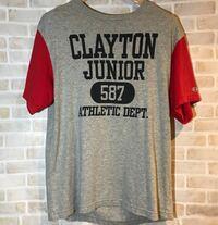 チャンピオンのカレッジTシャツ買いました。 年代は不明ですが、4段のプリントなのでそこそこ価値のあるものだと思いますが、詳しい方はいますか?