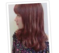 ブリーチなしでこの髪色(ピンクブラウン)に出来ますか?