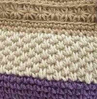 かぎ針の模様編みについてです。 白い部分の編み方は何編みというのでしょうか? 過去の質問や、ネットで探したのですがわかりませんでした。 教えていただけると嬉しいです。