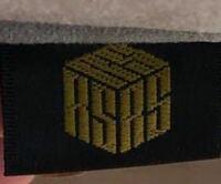 このロゴのブランドわかる方いませんか? ソファに付いていたタグです