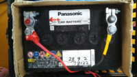 無線機の電源は? 貴方は無線機の電源は車のバッテリーですか?  私は予備バッテリーを使います。
